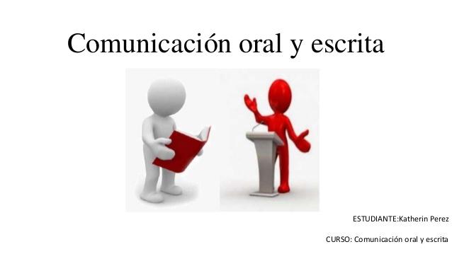 Portada curso Comunicación Oral y Escrita